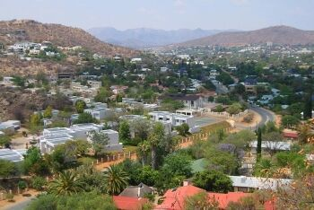 Klein Windhoek is a suburb east of central Windhoek, Namibia