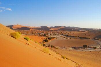 Dunes at Sossusvlei, Namibia